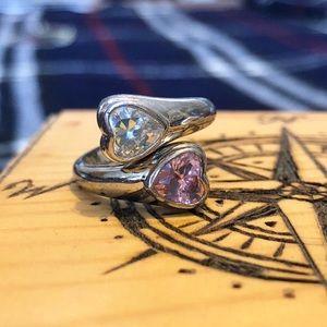 Dual Heart Ring